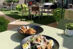 Kale Caesar Salad & Avocado Malibu